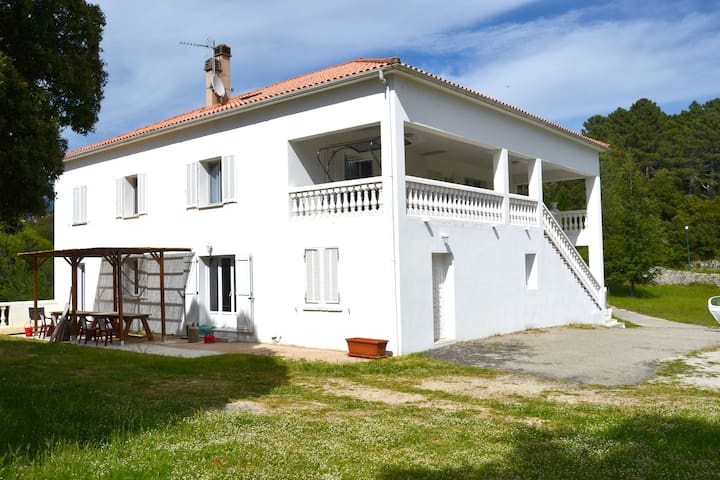 maison blanche - Zonza - Rumah