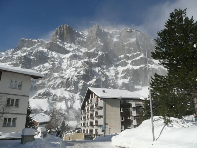 Ski and thermal baths in Valais - Leukerbad - Appartement