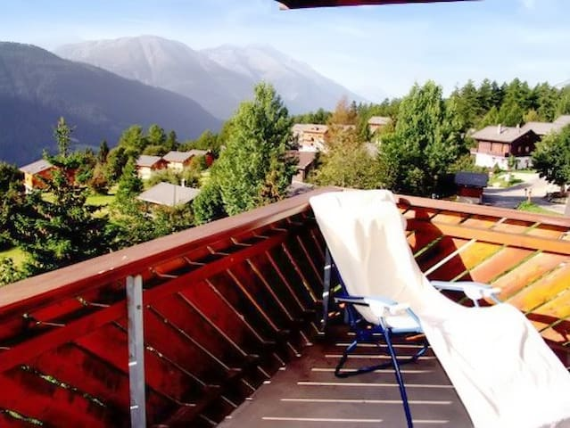 Flat with view of the Swiss alps - Bellwald - Departamento