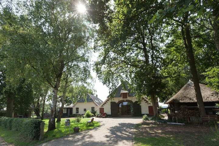 Prachtige ruimte in woonboerderij - Vierakker - Rumah