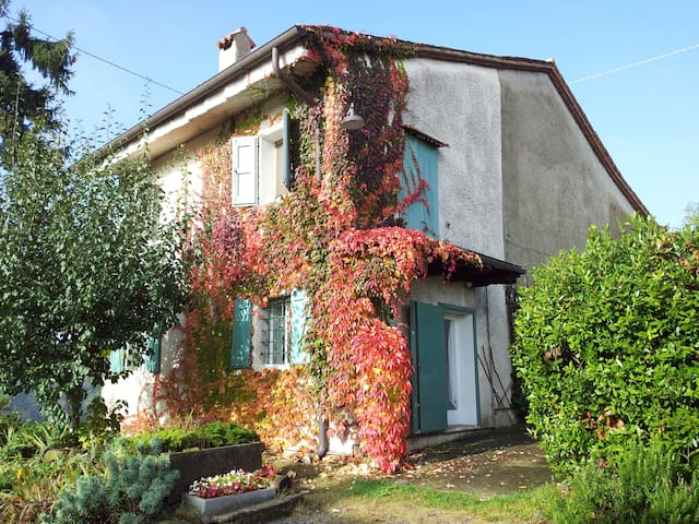 Casa rustica in collina - Malo - Huis