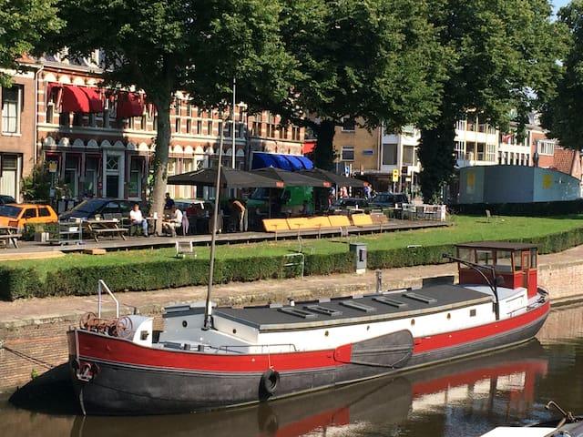 Unique ship-appartment in centre - Groningen - Kapal