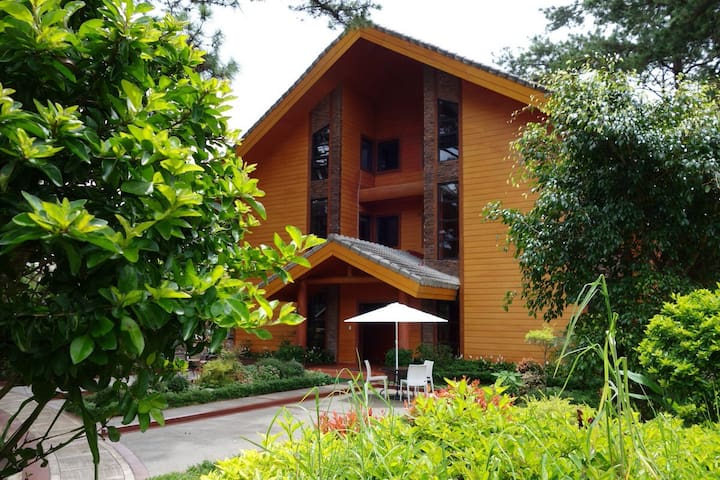 Unit A2, forest logcabin, johnhay - 바기오