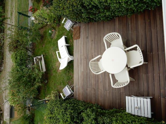 appart. calme, terrasse jardinet - Couzeix - Apartamento