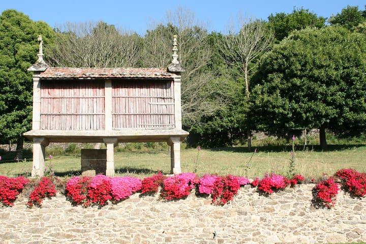 Cabaña en el Camino de Santiago - Trasfontao - Hytte