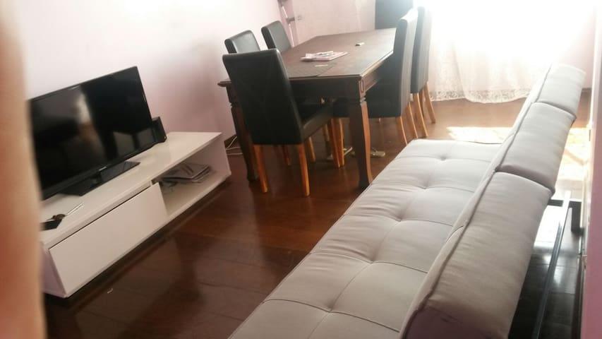 Espaçoso e seguro em ótima localização 2 quartos - São Bernardo do Campo - Daire