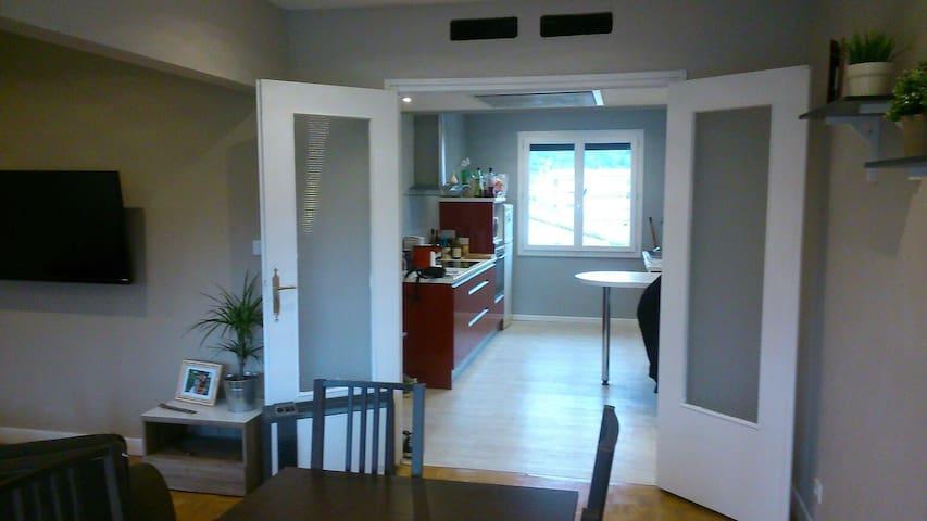 T2 confortable, vue parc et Ardèche - Saint-Vallier - Departamento