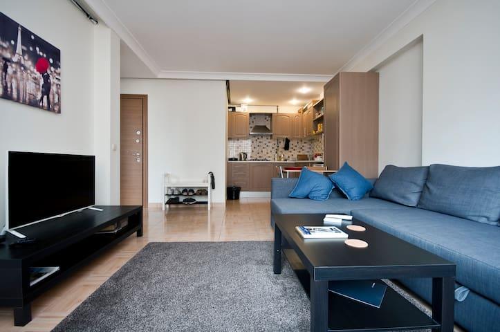 Center Location, Clean, Chic, Cozy - İstanbul/Sisli - Huoneisto