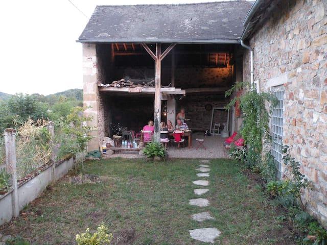 Cottage in Regional park Du Morvan - Chissey-en-Morvan - Cabaña