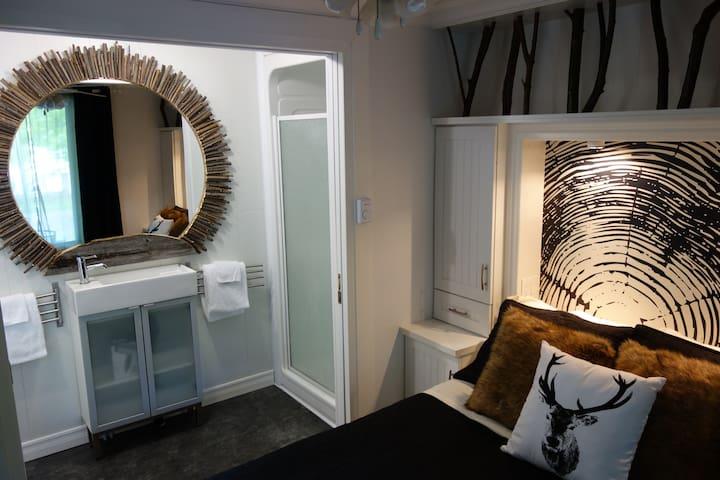 Chalet 1 chambre à coucher - Saint-Augustin-de-Desmaures - Chalet