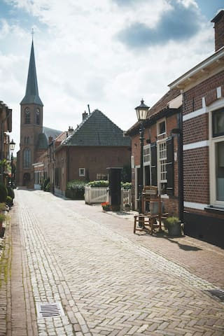 Even wonen als oma's oma. - Bredevoort - Townhouse
