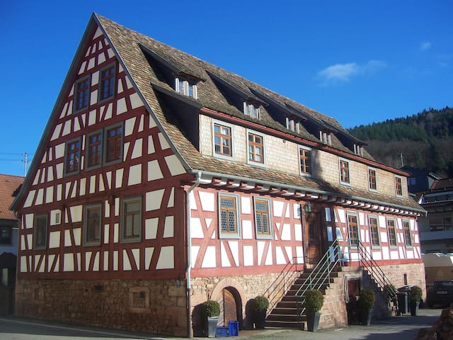 Roter Löwe, Bed and Breakfast - Heiligkreuzsteinach - Pousada