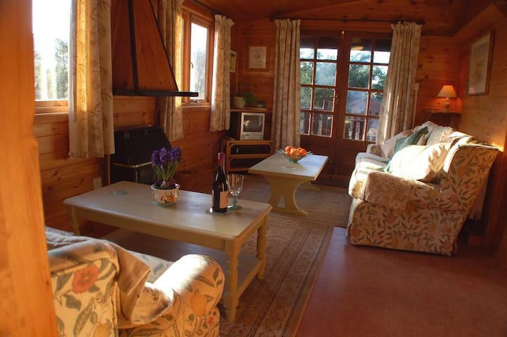 Bumbles Lodge countryside - Nr Knighton - Houten huisje