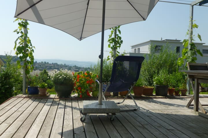 Room with marvellous view to Säntis - Wil - Bed & Breakfast