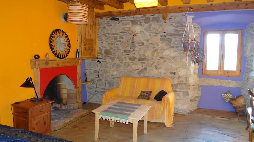 Habitacion rustica y muy acogedora - Latour-de-Carol - Casa