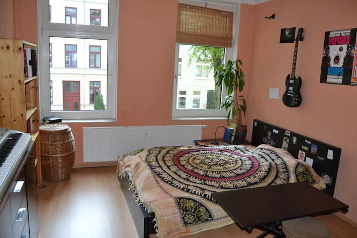 Bequemes Bett im Zentrum der Stadt - Rostock - Bed & Breakfast