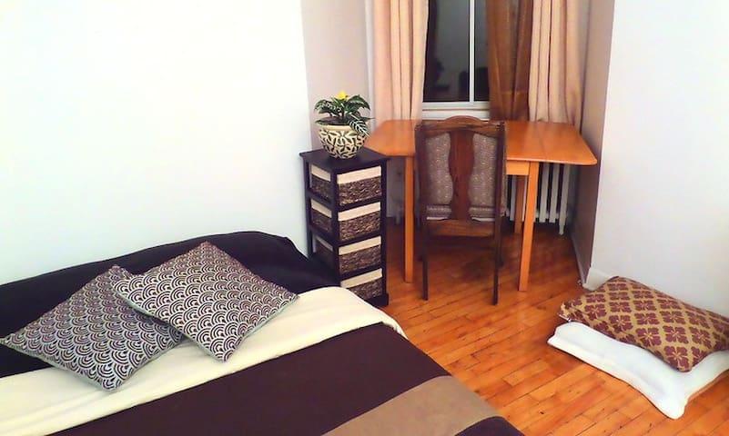 Cozy room. Nice location. - Montreal - Lägenhet