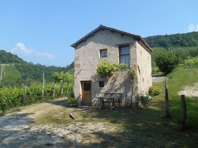 Cottage in the Prosecco hills - Rolle