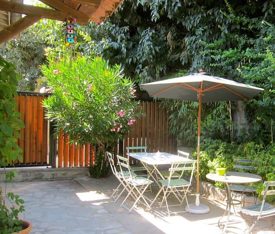 Appart de charme + jardin et garage - Castelnau-le-Lez - Apartemen