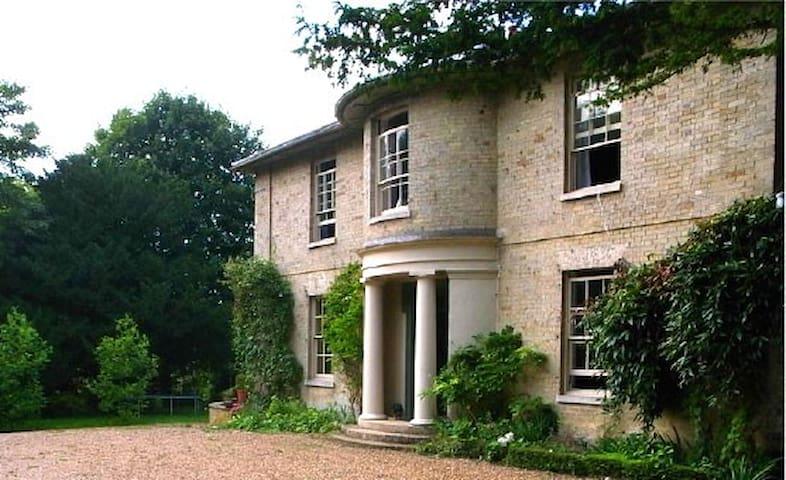Georgian Vicarage in 2 acre garden - Marham - Huis