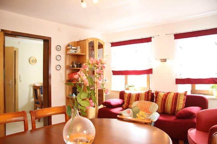 """Holiday apartment """"Birnstengel"""" - Bischofsgrün"""
