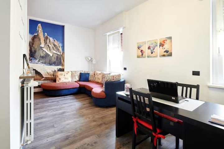 Grandi Cime: stanza Resegone - Lecco - Huis