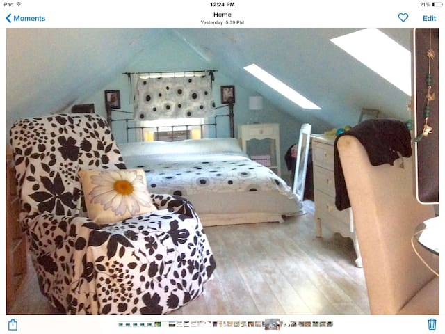 Loft to SBU and NYC train! - Stony Brook - Appartement