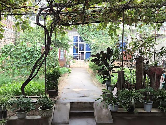 华山脚下安静祥和的民宿别墅,含花园和有机蔬菜园,距离景区超近 - 渭南市华阴市 - Villa