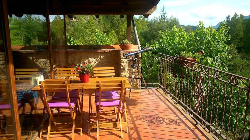 at Mas Franch:Spacious, warm bright - Sant Feliu de Pallerols