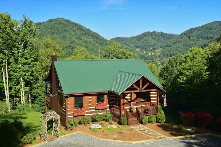 MountainView - Luxurious Log Cabin - Boone - Cabaña