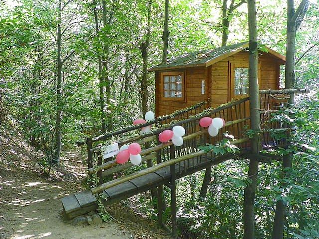 Treehouse in the woods - Турин - Домик на дереве