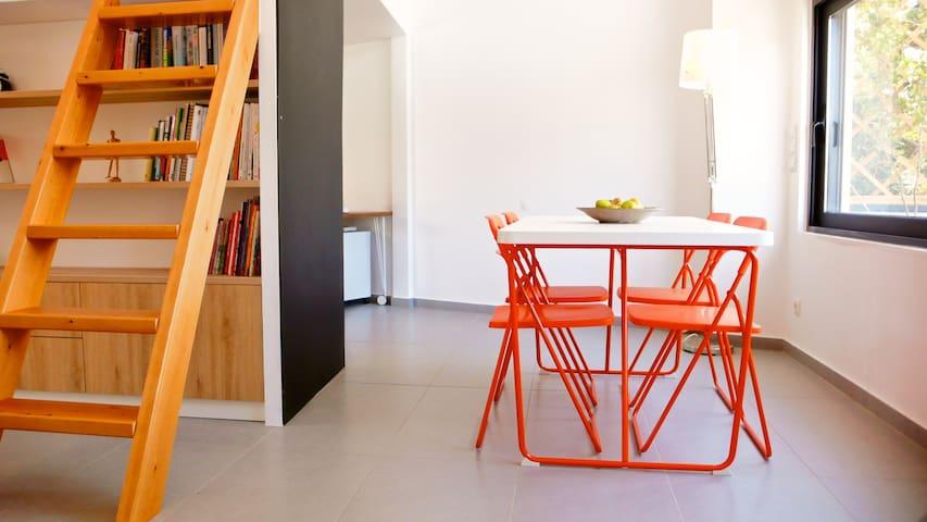 Charming Bright & Airy Loft Studio! - Ierapetra - Loteng Studio