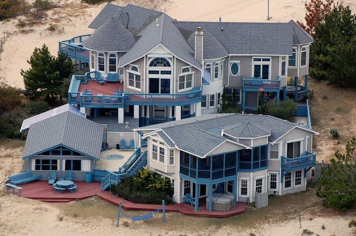 Sunnybank, OCEANFRONT, Pet Friendly Vacation Home - Corolla - Casa