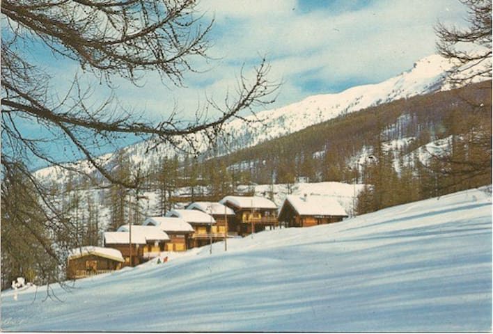 Wooden cottage in the Alps - Sansicario Torinese - Cabane