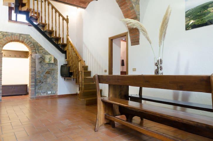 Accogliente casa in collina - Roccatederighi - Hus