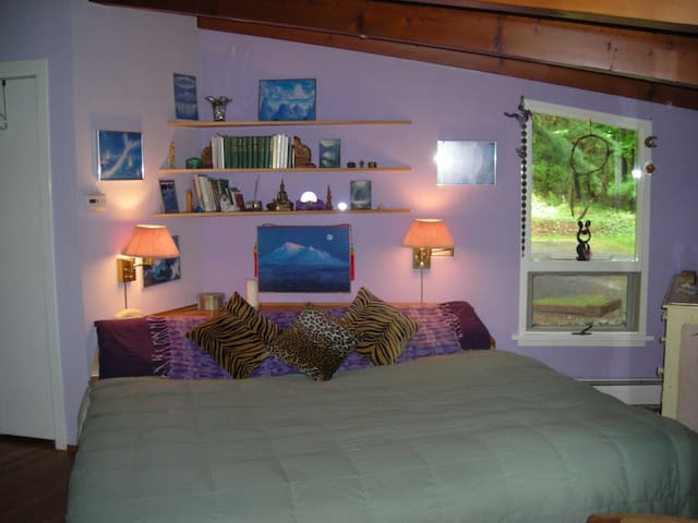 Quiet and cozy bedroom with deck - East Chatham