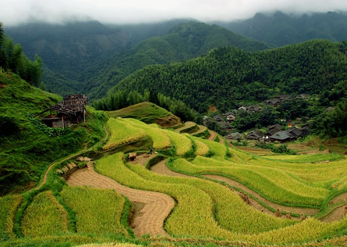 Laojia 老家, a Yao ethnic village (3) - Guilin Shi