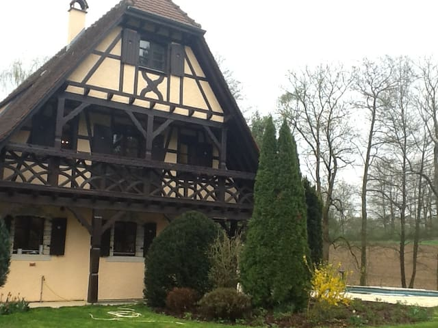 Luxury in Alsace / Swiss border - Hagenthal-le-Bas - Bed & Breakfast
