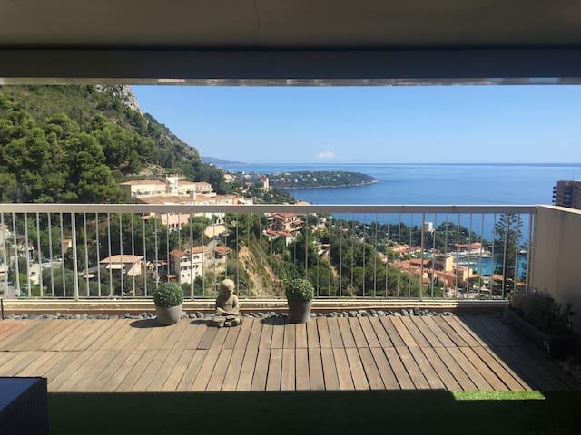 Large apartment Monaco and sea view - Beausoleil - Apto. en complejo residencial