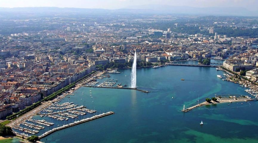 Top of Pâquis (Downtown Geneva) - Ginebra - Loft
