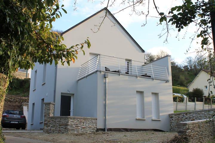 maison dans hameau typique - Urville-Nacqueville - Haus