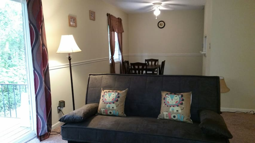 2 Bedroom -furnished - Coralville - Daire