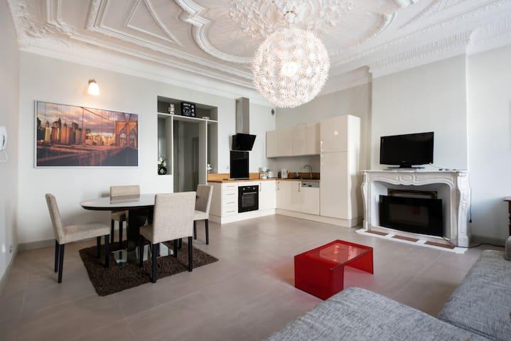 T2 rdc de 56 m2 avec terrasse arborée hyper centre - Rochefort - Apartament