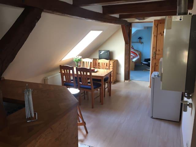 Schöne Ferienwohnung in Sternberg - Sternberg - Leilighet