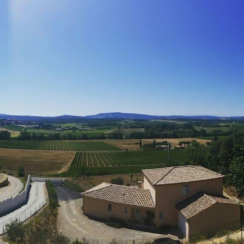 Suite overlooking the vineyard - Pauligne - Huis