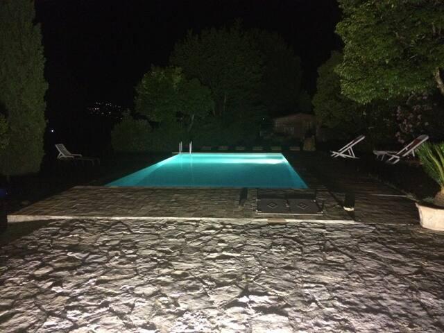 Villa Marina - suite overlooking countryside - Perugia - Ev