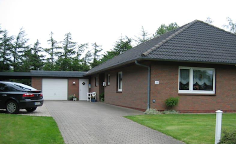 Ferienwohnung Nissen - Breklum - Appartement