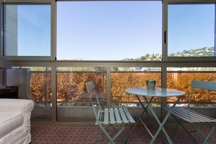 Charming Studio - Ideal for couples - Mandelieu-la-Napoule - Apartemen