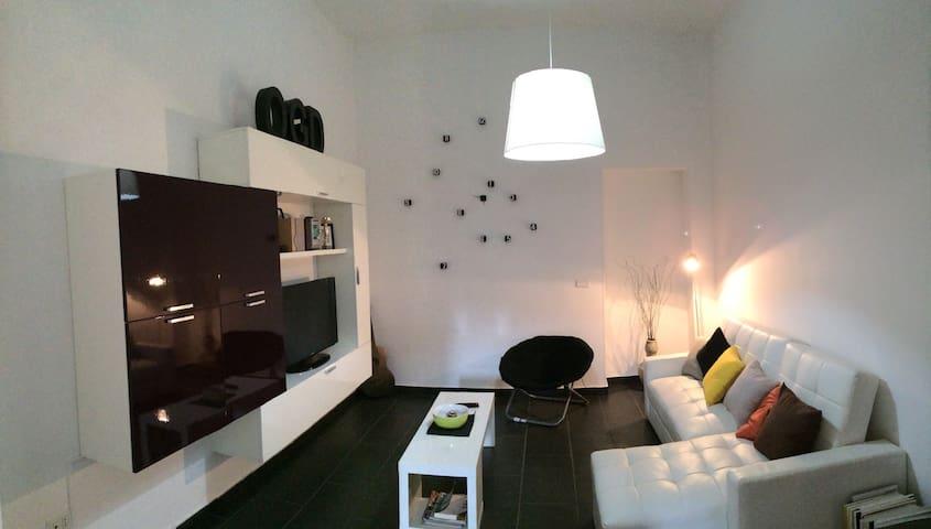 Bilocale Moderno a 200m dal mare - Bianco - Appartement