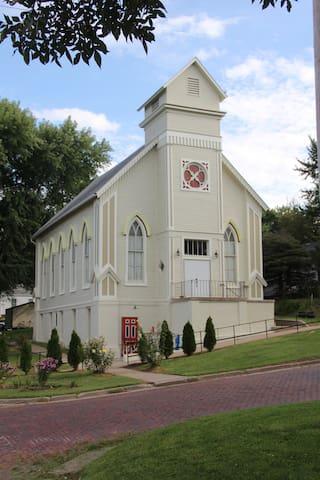1873 Project Art Church - Malvern - Overig
